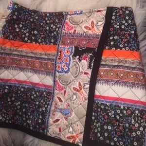 Zara Mini Quilted Skirt